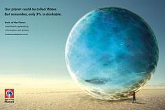 亚马逊星球银行创意广告设计欣赏
