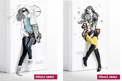 国外品牌女鞋广告设计欣赏