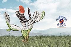 3款高空跳伞公司Sky Company创意广告设计欣赏