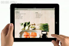 苹果iPad广告《iPad is delicious》