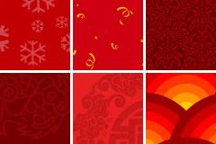 红色网页背景
