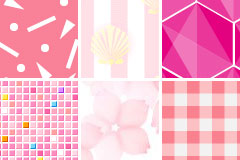 粉色网页背景