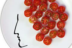 Face On食物的发型