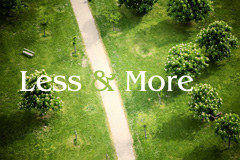 �O�中的Less和More