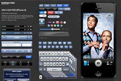 iPhone 5版iOS 6 GUI PSD源文件