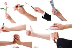 实用的手势合集(二)PSD素材
