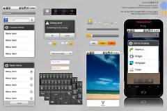 Android系统界面PSD素材