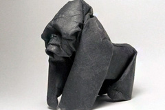 生动可爱的动物折纸艺术