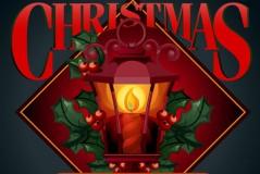 温暖圣诞挂灯矢量素材