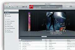 苹果电脑音乐播放界面PSD素材