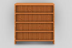 木质橱柜书架PSD齐乐娱乐