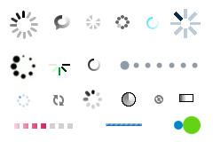 网页loading GIF图片(加载)