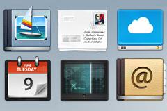 六款App图标PSd素材