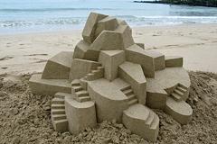 概念建筑沙雕作品