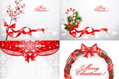 圣诞节装饰背景矢量素材