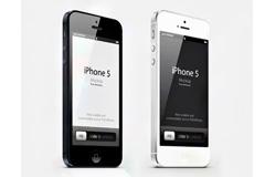 最新iphone5手机PSD分层素材