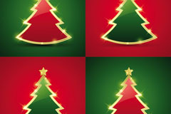 精致圣诞节卡片矢量素材