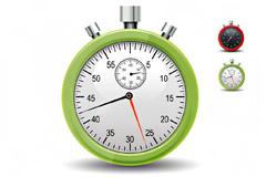 计时表秒表PSD素材