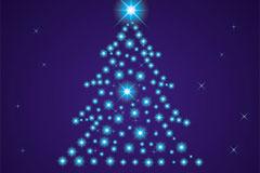 2013创意圣诞树矢量素材