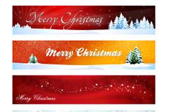 圣诞节导航栏标题栏PSD优发娱乐