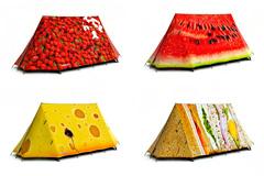 独具创意的时尚帐篷设计