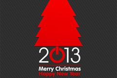 2013新年背景矢量素材