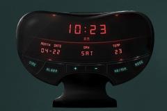 现代感异性时钟PSD素材