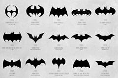 蝙蝠侠黑暗骑士72年logo进化史