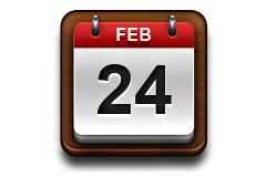 日历的应用软件PSD素材