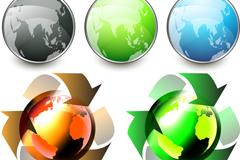 彩色科技图标矢量素材