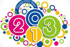 童趣2013字体矢量素材