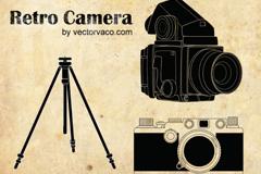 精美复古相机矢量素材