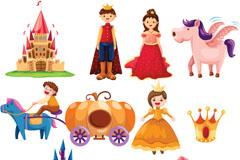 卡通童话人物矢量素材