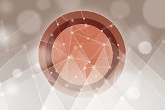 梦幻创意圆形设计矢量素材
