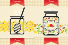 清新餐厅菜单设计矢量素材