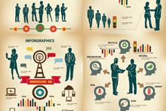 创意商业信息图矢量素材