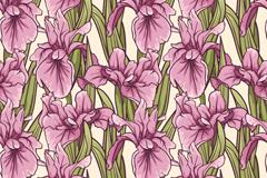 精美花卉背景设计矢量素材