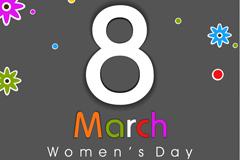 38妇女节海报矢量素材