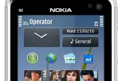诺基亚N8界面矢量素材