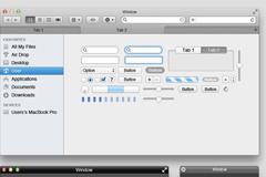 苹果界面元素PSD素材