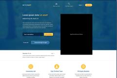 应用网页界面设计PSD素材