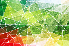 绿色枞横线交错纹理背景图片