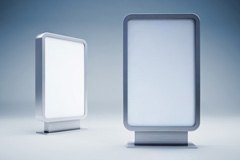 �V告�粝�VI素材空白模板�D片