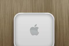 苹果标志图标PSD素材