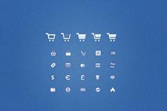 购物车图标设计PSD素材