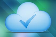 云朵下载成功PSD素材