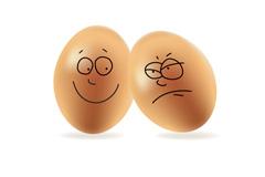 创意童趣鸡蛋矢量素材