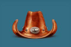 精致的牛仔帽PSD素材