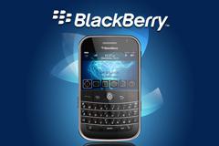 黑莓全键盘手机PSD素材