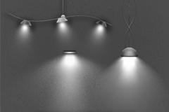 灯光展示PSD素材